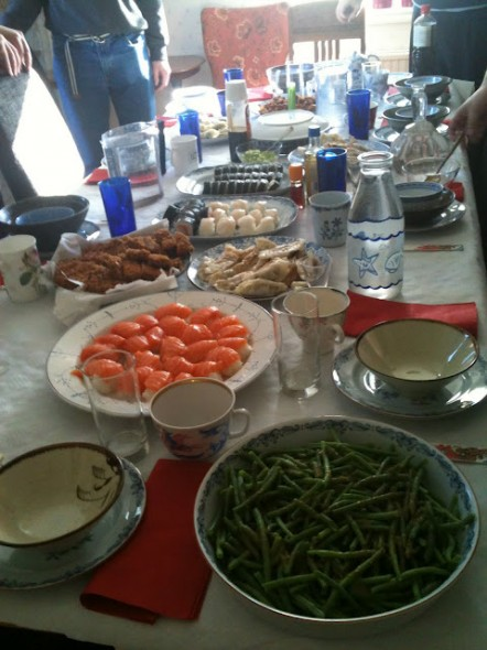 Japansk middag 2012
